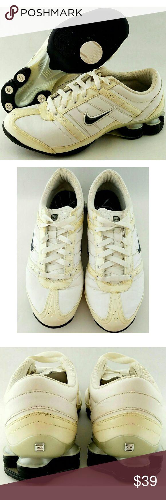 buy online 1ed1a 4ba52 ... shox current khaki  nike shox electro white running training sneakers  womens nike ...