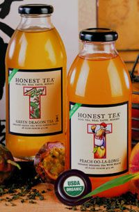 honest tea Peach Oo-La-Long Tea   Green Dragon and Peach Oo-la-long tea