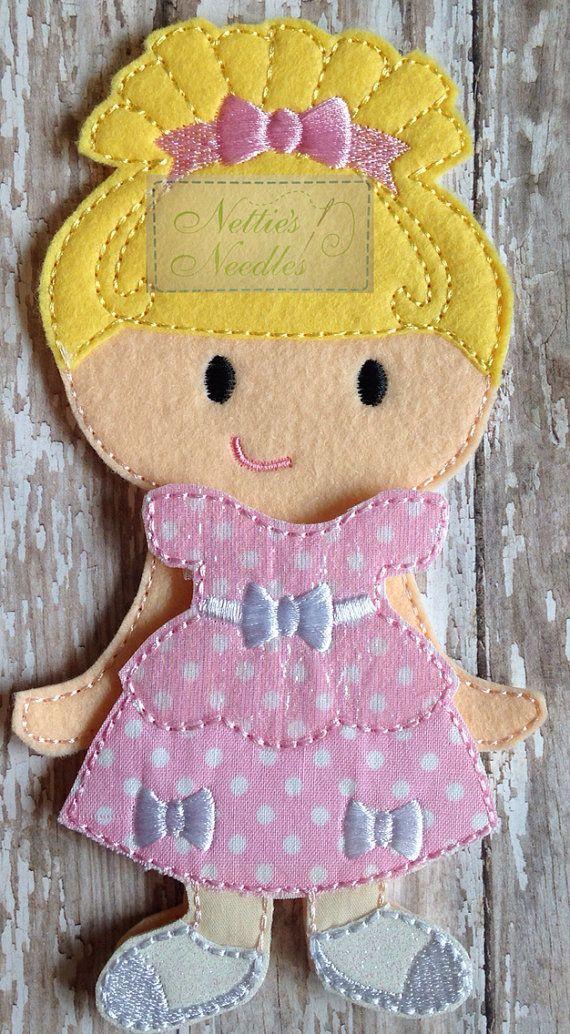 Lalaloopsy Cinder Slippers Felt Doll and by NettiesNeedlesToo, $16.00