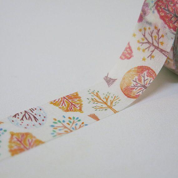 Taiwan Masking Tape - Tree
