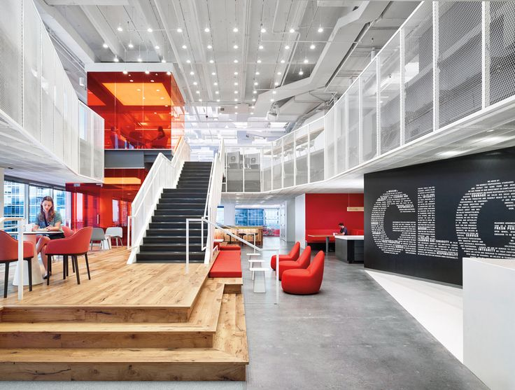Gerson Lehrman Group By Clive Wilkinson Architects 2016 Best Of Year Winner For Midsize Corporate