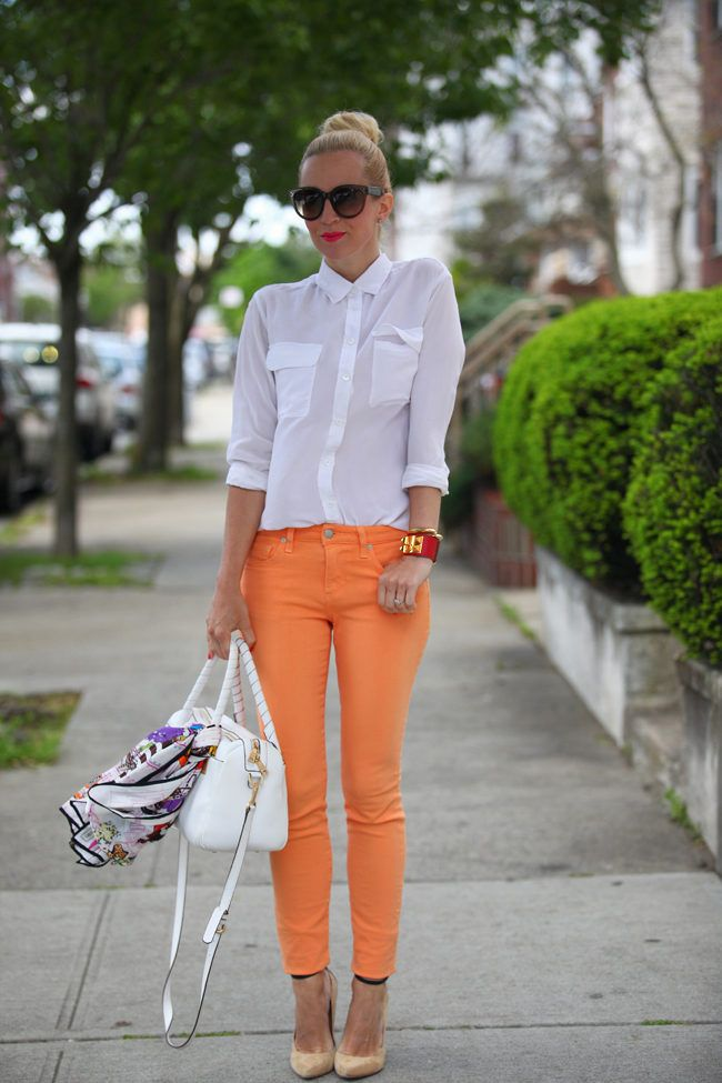 Love this! I'm a little obsessed with the oversized white shirt look!