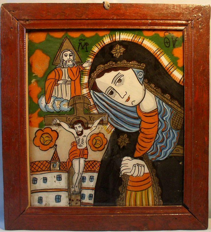 АХТЫРСКАЯ (Страстная) Румыния, Синегорье, ок. 1900. 57x52 см. Galerie Philipp von Külmer Частное собрание