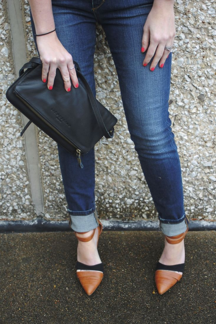 Fashion, fashion blog, joes jeans, skinny jeans, fortune heels, Jeffrey Campbell, free people, liebeskind, clutch, black leather clutch