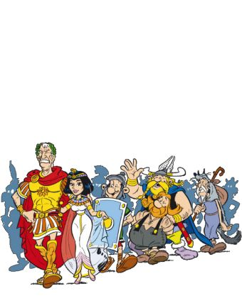 Asterix - The A to Z of Asterix - Characters - Boneywasawarriorwayayix