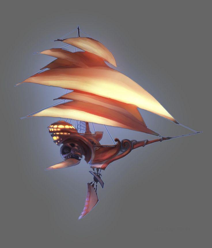 Treasure Planet Ship | Buried Treasure: The ill-fated voyage to Treasure Planet 2 ...