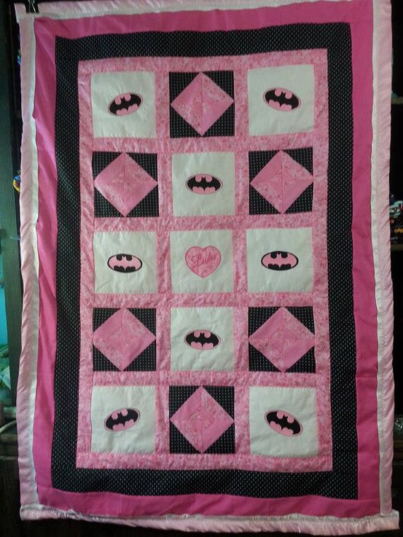 Hey, I found this really awesome Etsy listing at http://www.etsy.com/listing/160528876/batman-babytoddler-quilt