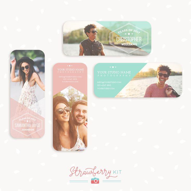 WE ♥ THIS!  ----------------------------- Original Pin Caption: Senior Rep Cards Templates for Photographers