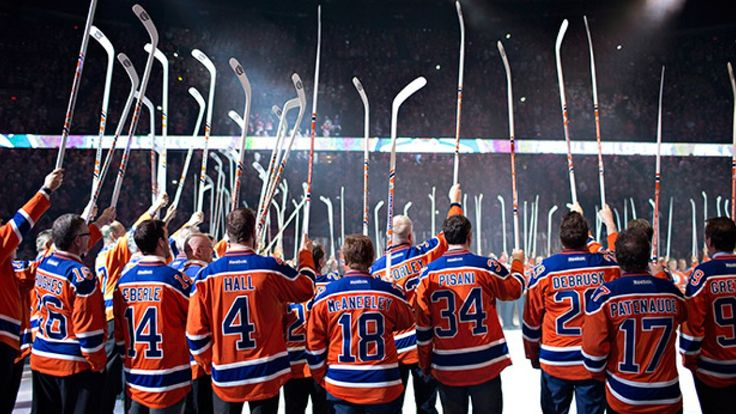 The Edmonton Oilers said goodbye to Rexall Place on Wednesday night and paid tribute to many of the franchise's greats, including Wayne Gretzky.