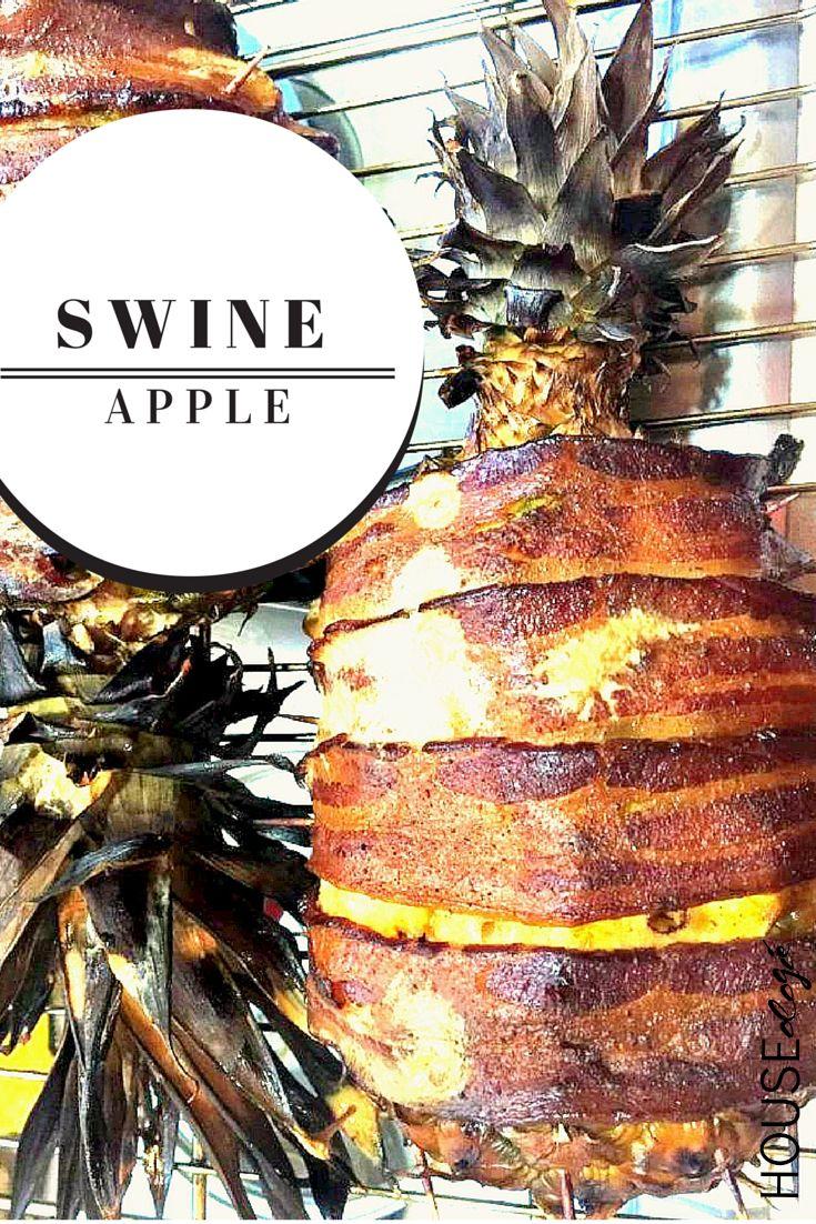 Swineapple: Pork Loin Stuffed Pineapple Recipe