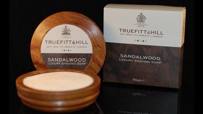 Truefitt & Hill Sandalwood Shaving Soap in Wooden Bowl - $45.00 :
