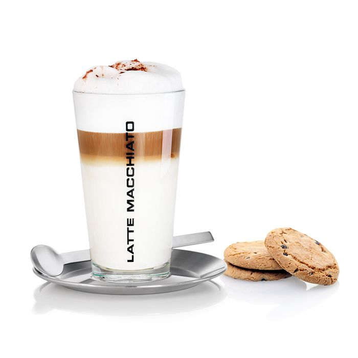 Multi layer: Enjoy your latte macchiato in style .. A pure pleasure with Blomus.