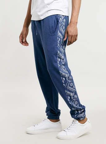 Navy Joggers - Men's Loungewear - Clothing
