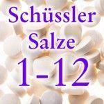zur Übersicht - Liste Schüssler Salze
