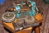 Myford ML4 lathe headstock and bits