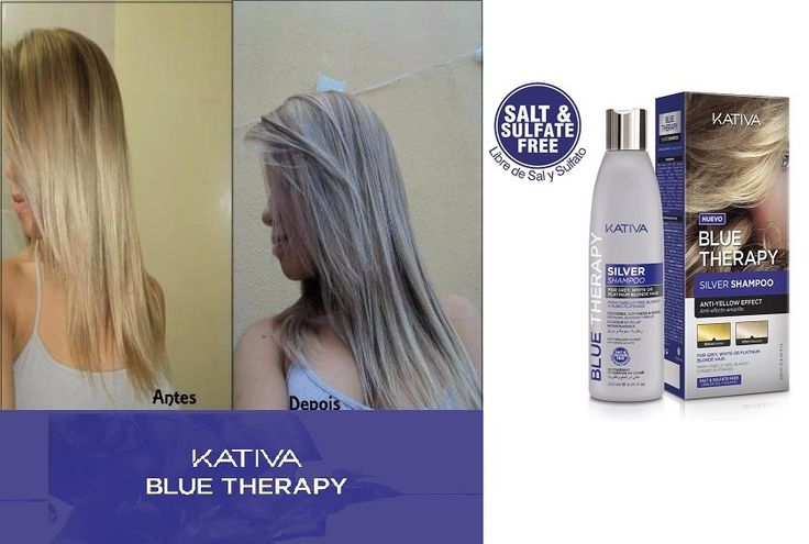 Kativa Blue Therapy Silver Shampoo.Η εξέλιξη στα κομμωτήρια,Το καλύτερο της αγοράς! • Χωρίς αλάτι, θειικά άλατα και parabens και γλουτένη • Σαμπουάν Θεραπείας • Βελτιώνει το χρώμα των μαλλιών • Εξουδετερώνει το κίτρινο χρώμα • Περισσότερο φυσικό και καθορισμένο χρώμα • Φωτεινότητα και απαλότητα