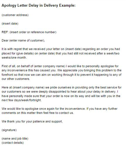 Apologize Letter To Client apology letter to customer for wrong – Example of Apology Letter to Customer