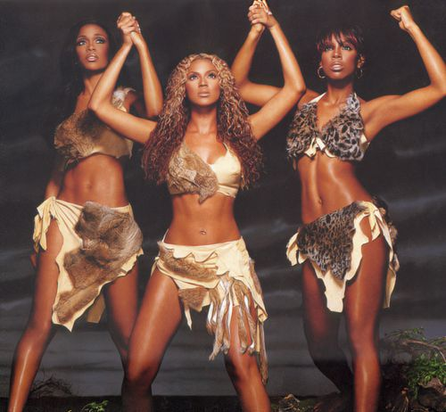 Destiny's Child: Michelle Williams, Beyonce Knowles, Kelly ...