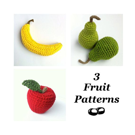 Crochet Fruit Patterns / Crochet Food Patterns / by LittleConkers