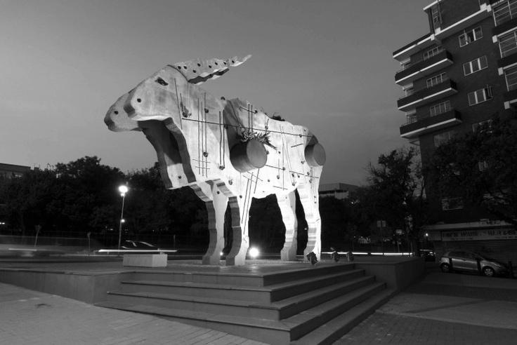 Public art in Braamfontein