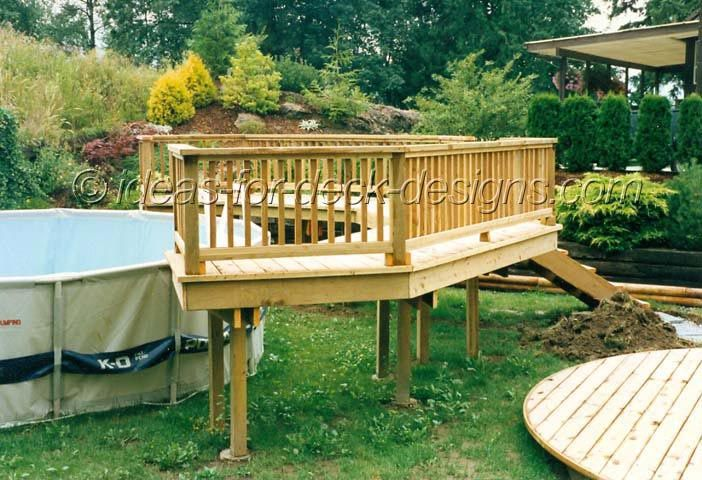 66 best images about above ground pool deck designs on pinterest decks small yards and above. Black Bedroom Furniture Sets. Home Design Ideas