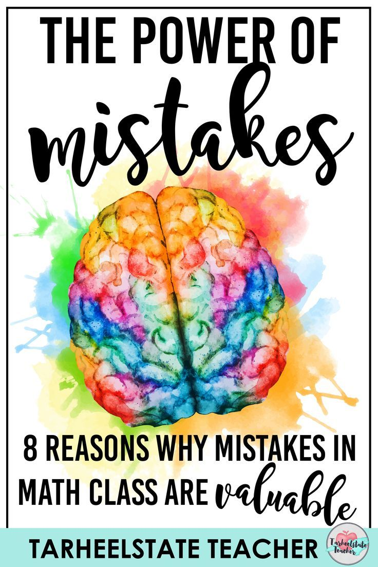 The Power of Mistakes in Learning Math | Tips for Teachers ...