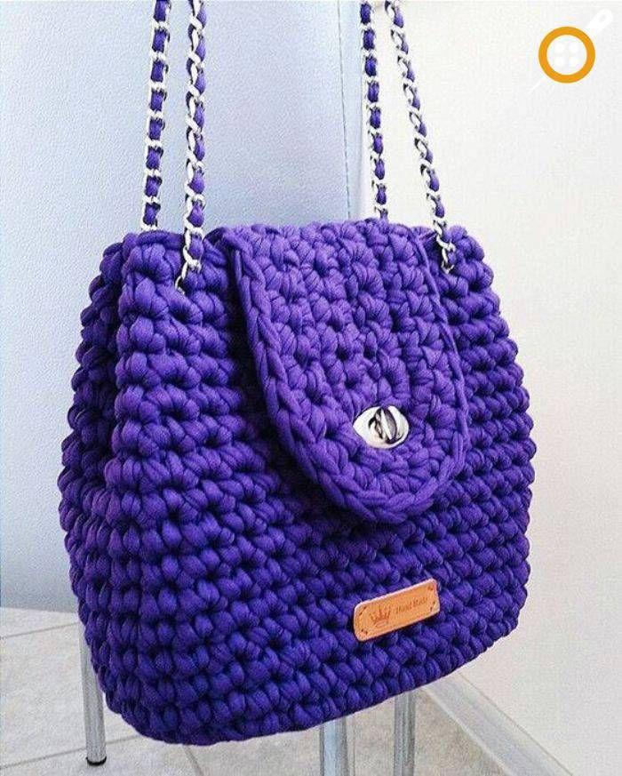 88e10e419edd7 Penye ipten çanta modelleri Kroşe Dikişler, Tığ Desenleri, Tunus Örgüsü, Tığ  Işi Çanta