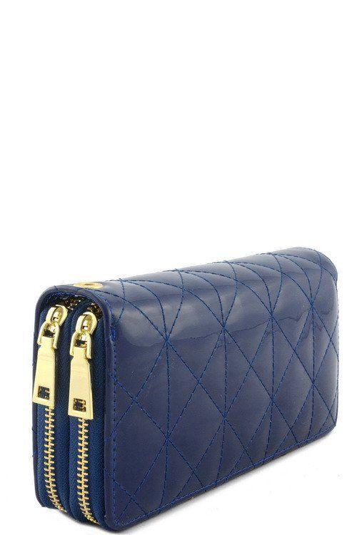 Nice Designer 2 Zipper Wallet - Loluxe - 1