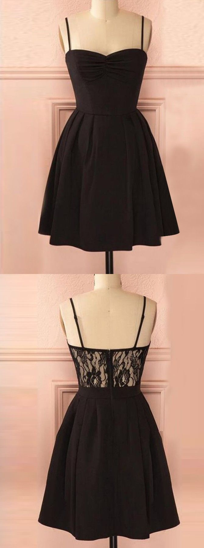 short black dresses,black homecoming dresses,little black dresses,lace homecoming dresses