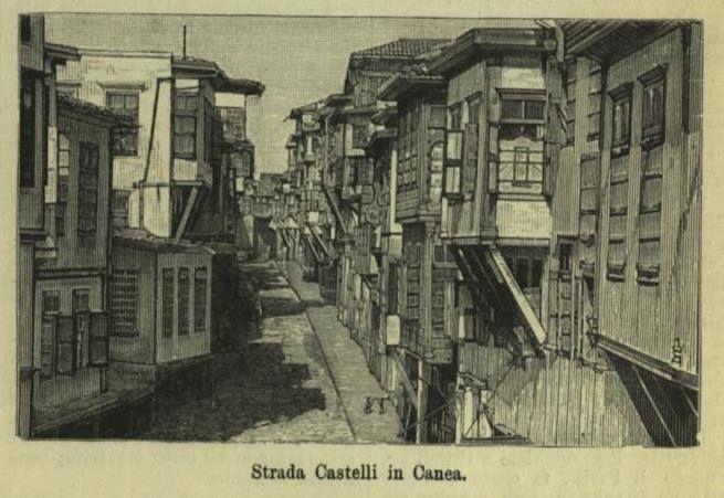 ΧΑΝΙΑ-ΚΑΣΤΕΛΙ L'ILLUSTRAZIONE ITALIANA September 22,1889