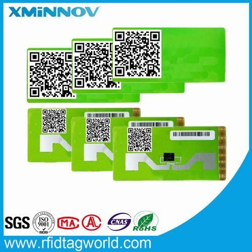 RFID label tag sticker Non-removal identification-UY150174A-Vehicle Windshield Application-XMINNOV | A Manufacturer Factory of Radio Frequency Identification RFID Security Tag Label