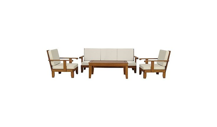 Buy Sedona 4 Piece Classic Sofa Set from our Conservatory Furniture range today from George at ASDA.