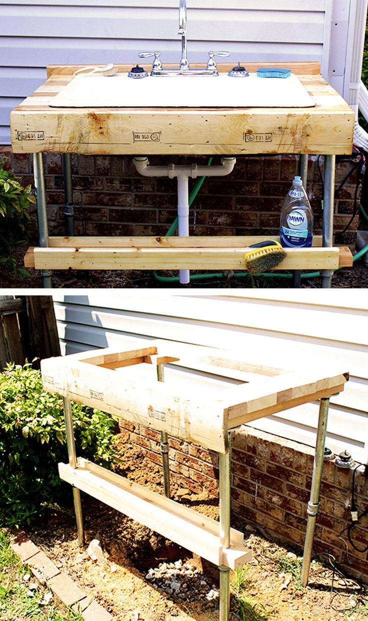 17 Best ideas about Outdoor Garden Sink on Pinterest Planting a
