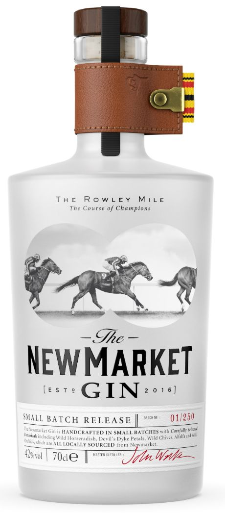 Newmarket Gin Bottle Render