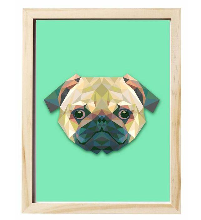 Cuadro perros.  www.jetzi.com #jetzi #perros #cuadro #art