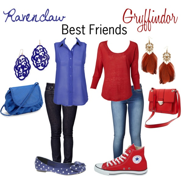 Ravenclaw and Gryffindor