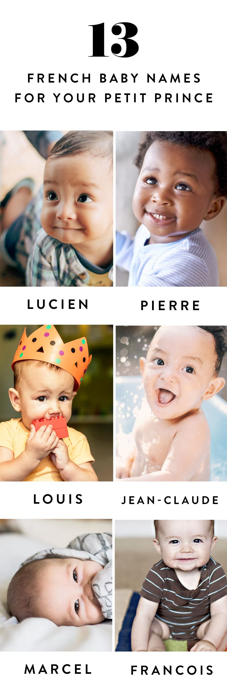 Is there anything cuter than a baby in a beret? Here are 13 french baby boy names you'll love.