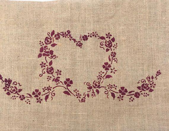 Rustic Pillows  Lace Pillowcase  Burlap Pillow by Montanacreatives
