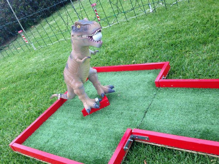 Golf ball eating T-Rex