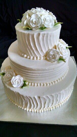 Wedding cake made at pSweetSuccess