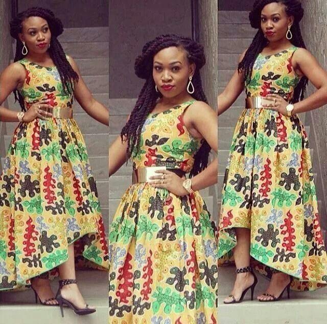 Love Her Ankara Dress Latest African Fashion African Prints African Fashion Styles African