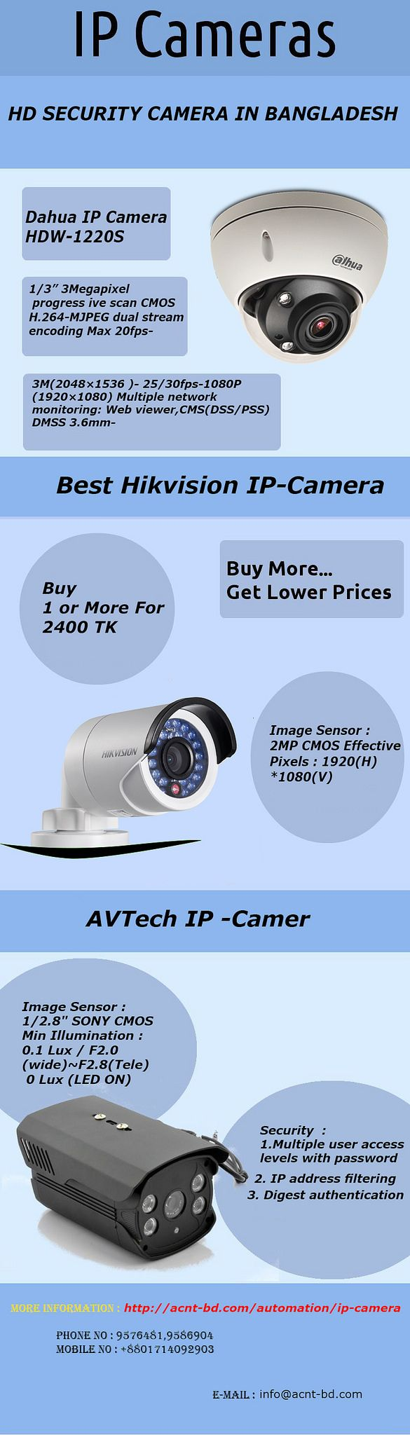 https://flic.kr/p/T9f9ya | Latest IP Camera Price in Bangladesh at acnt-bd.com | Acnt-bd.com is providing the best ip camera price in Bangladesh offering dahua, jovision ip camera in Dhaka, Bangladesh.