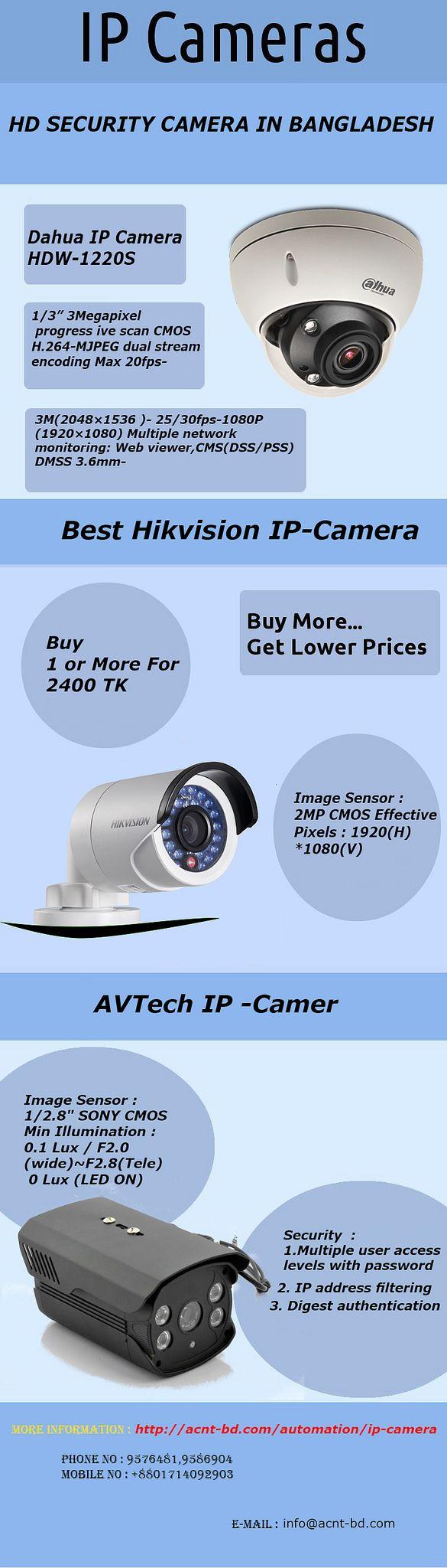 https://flic.kr/p/T9f9ya | Latest IP Camera Price in Bangladesh at acnt-bd.com | Acnt-bd.com is providing the best ip camera price in Bangladesh offering dahua, jovision ip camera in Dhaka, Bangladesh.