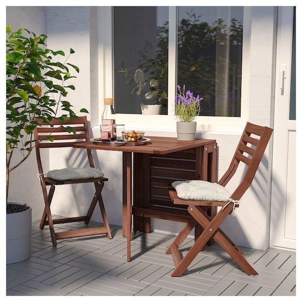 Applaro Brown Gartentisch Gateleg Ikea Ikea Gartentisch