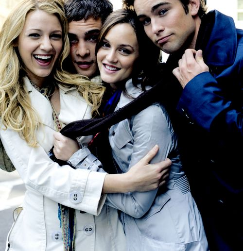 Gossip Girl! Blake, Ed, Leighton and Chace