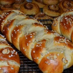Finnish Pulla, photo by Lori B. - a must have at christmas - great cardomon flavor