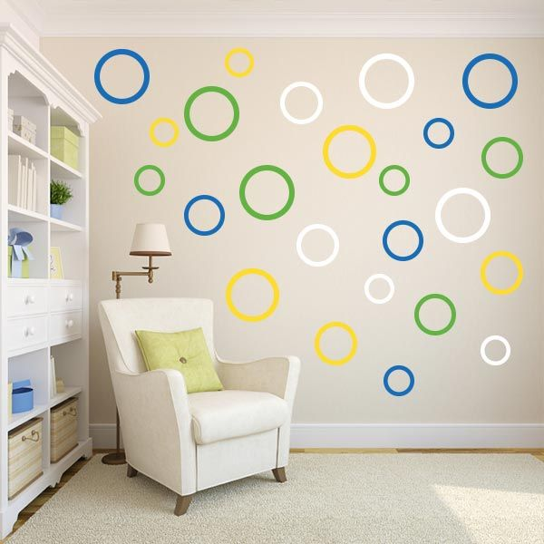 85 Best Shapes Wall Decals Images On Pinterest | Texture