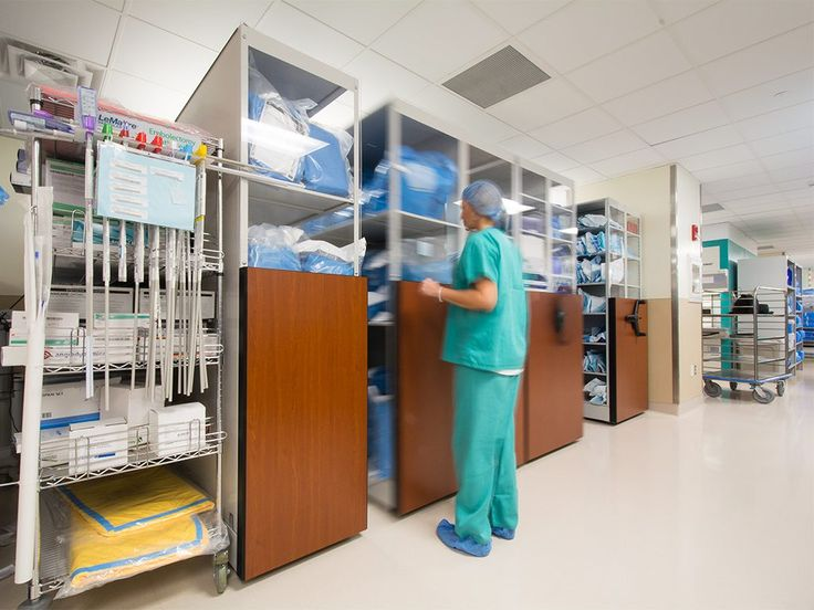 High Density Mobile Shelving For Healthcare And Hospital Storage