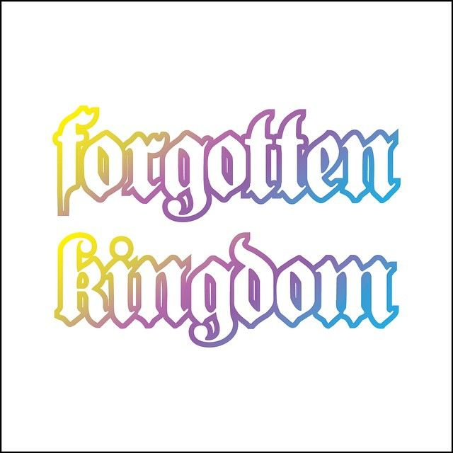 Logo for the Forgotten Kingdom card game. #fairytale #tabletop #cardgame #kingdom