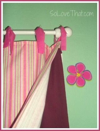DYI blackout curtains for kids
